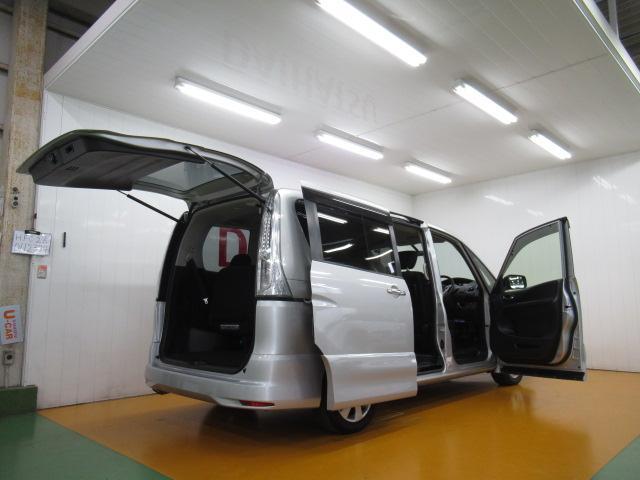ハイウェイスター S-ハイブリッド ハイブリッド車 3列シート 電動格納ミラー パワーウインドウ 片側オートスライドドア ETC アイドリングストップ オートエアコン Pスタート Bカメラ キーフリー(9枚目)