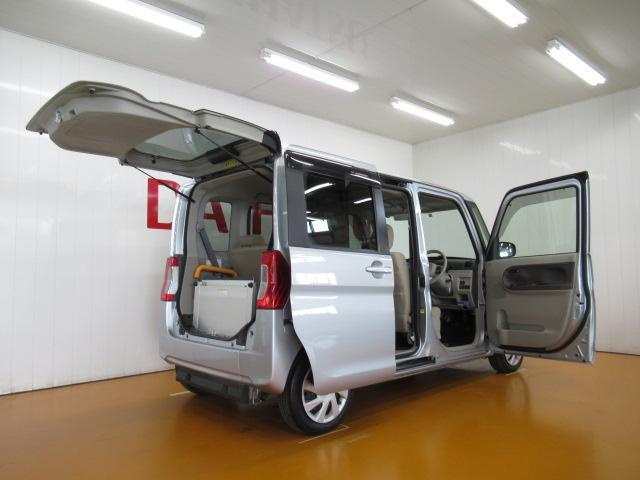 スローパーL リヤシート付仕様 福祉車両 ミラクルオープンドア エアコン ETC エコアイドル 電動格納ミラー 両側スライドドア 電動ウインチ Bカメラ キーレス(9枚目)