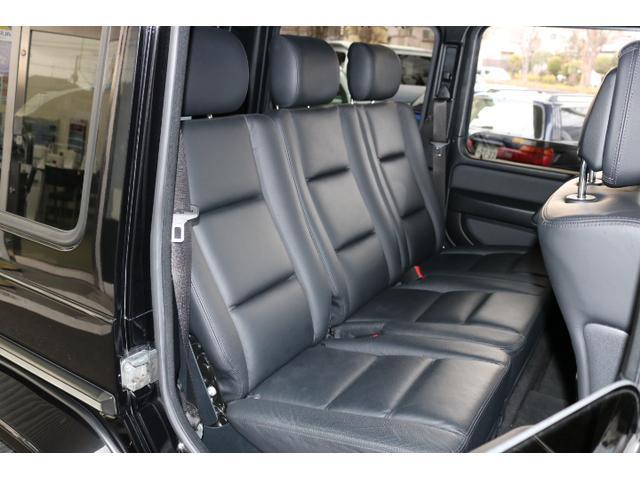 G550 G63仕様/20インチアルミ/サイド出しマフラー/AMGスカッフプレート/黒本革シート/シートヒーター/スライディングルーフ/ディストロニックプラス/ハーマンカードン/ウッドコンビハンドル(11枚目)