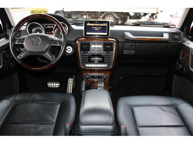 G550 G63仕様/20インチアルミ/サイド出しマフラー/AMGスカッフプレート/黒本革シート/シートヒーター/スライディングルーフ/ディストロニックプラス/ハーマンカードン/ウッドコンビハンドル(13枚目)
