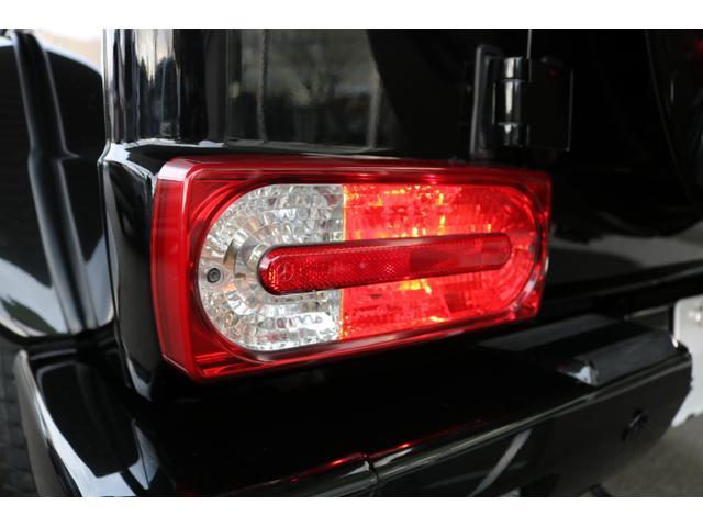 G550 G63仕様/20インチアルミ/サイド出しマフラー/AMGスカッフプレート/黒本革シート/シートヒーター/スライディングルーフ/ディストロニックプラス/ハーマンカードン/ウッドコンビハンドル(32枚目)