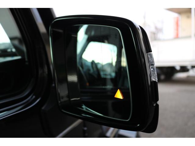 G550 G63仕様/20インチアルミ/サイド出しマフラー/AMGスカッフプレート/黒本革シート/シートヒーター/スライディングルーフ/ディストロニックプラス/ハーマンカードン/ウッドコンビハンドル(35枚目)
