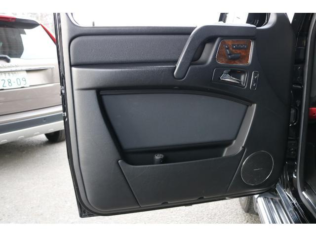 G550 G63仕様/20インチアルミ/サイド出しマフラー/AMGスカッフプレート/黒本革シート/シートヒーター/スライディングルーフ/ディストロニックプラス/ハーマンカードン/ウッドコンビハンドル(43枚目)