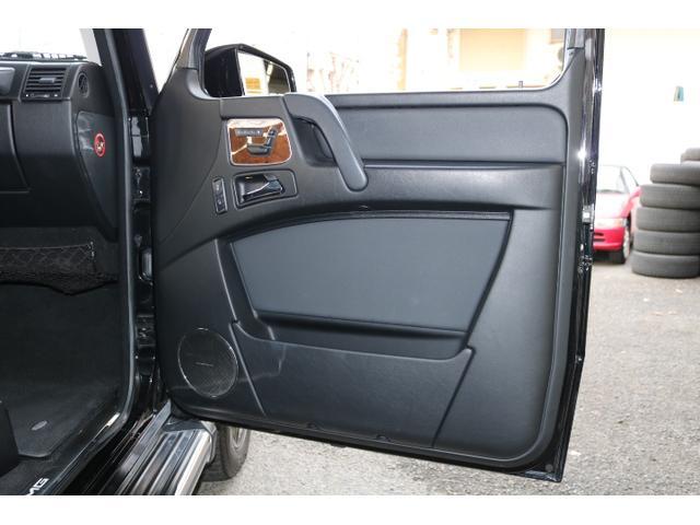 G550 G63仕様/20インチアルミ/サイド出しマフラー/AMGスカッフプレート/黒本革シート/シートヒーター/スライディングルーフ/ディストロニックプラス/ハーマンカードン/ウッドコンビハンドル(45枚目)