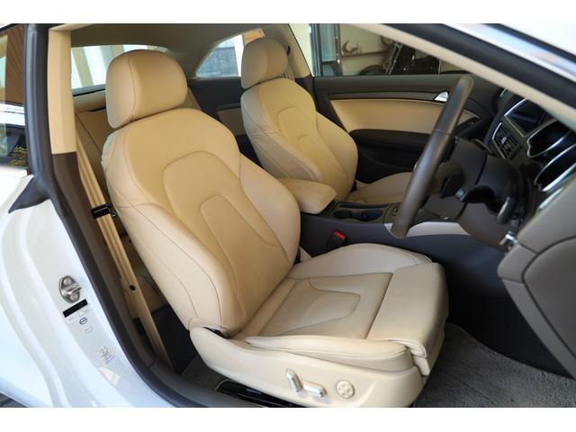 2.0TFSIクワトロ 後期モデル WORK20AW KW車高調 ユーザー買取車 ベージュ本革シート グレイシアホワイトメタリック フルタイム4WD 2,000ccターボ 純正ナビ パーキングシステム(10枚目)