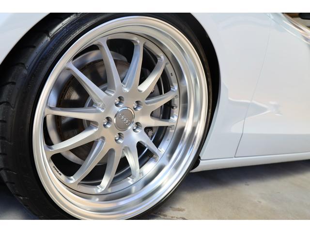 2.0TFSIクワトロ 後期モデル WORK20AW KW車高調 ユーザー買取車 ベージュ本革シート グレイシアホワイトメタリック フルタイム4WD 2,000ccターボ 純正ナビ パーキングシステム(33枚目)