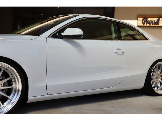 2.0TFSIクワトロ 後期モデル WORK20AW KW車高調 ユーザー買取車 ベージュ本革シート グレイシアホワイトメタリック フルタイム4WD 2,000ccターボ 純正ナビ パーキングシステム(38枚目)