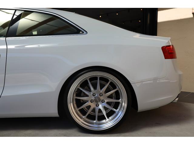 2.0TFSIクワトロ 後期モデル WORK20AW KW車高調 ユーザー買取車 ベージュ本革シート グレイシアホワイトメタリック フルタイム4WD 2,000ccターボ 純正ナビ パーキングシステム(39枚目)