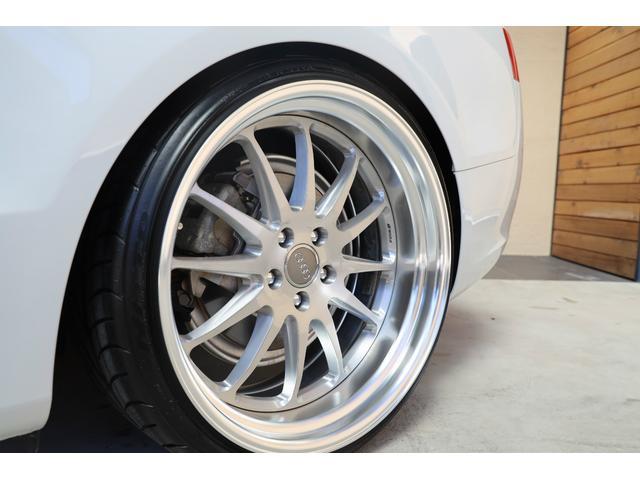 2.0TFSIクワトロ 後期モデル WORK20AW KW車高調 ユーザー買取車 ベージュ本革シート グレイシアホワイトメタリック フルタイム4WD 2,000ccターボ 純正ナビ パーキングシステム(40枚目)