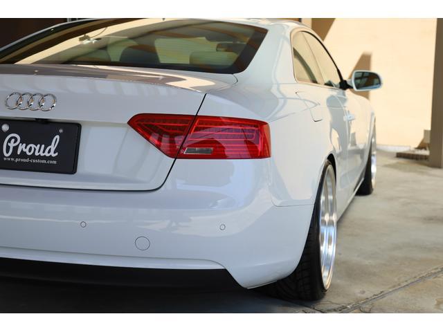 2.0TFSIクワトロ 後期モデル WORK20AW KW車高調 ユーザー買取車 ベージュ本革シート グレイシアホワイトメタリック フルタイム4WD 2,000ccターボ 純正ナビ パーキングシステム(48枚目)