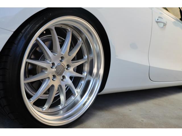 2.0TFSIクワトロ 後期モデル WORK20AW KW車高調 ユーザー買取車 ベージュ本革シート グレイシアホワイトメタリック フルタイム4WD 2,000ccターボ 純正ナビ パーキングシステム(51枚目)