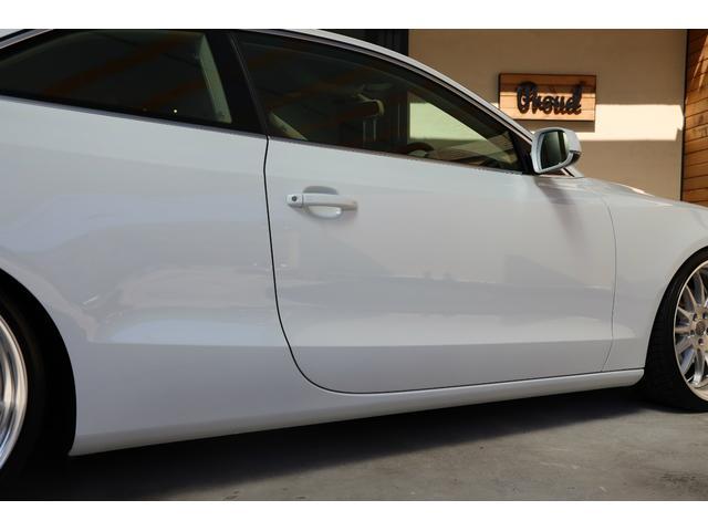 2.0TFSIクワトロ 後期モデル WORK20AW KW車高調 ユーザー買取車 ベージュ本革シート グレイシアホワイトメタリック フルタイム4WD 2,000ccターボ 純正ナビ パーキングシステム(55枚目)