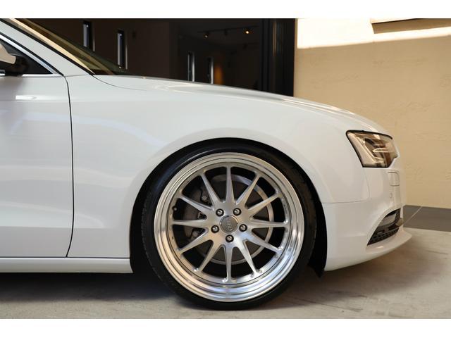 2.0TFSIクワトロ 後期モデル WORK20AW KW車高調 ユーザー買取車 ベージュ本革シート グレイシアホワイトメタリック フルタイム4WD 2,000ccターボ 純正ナビ パーキングシステム(57枚目)