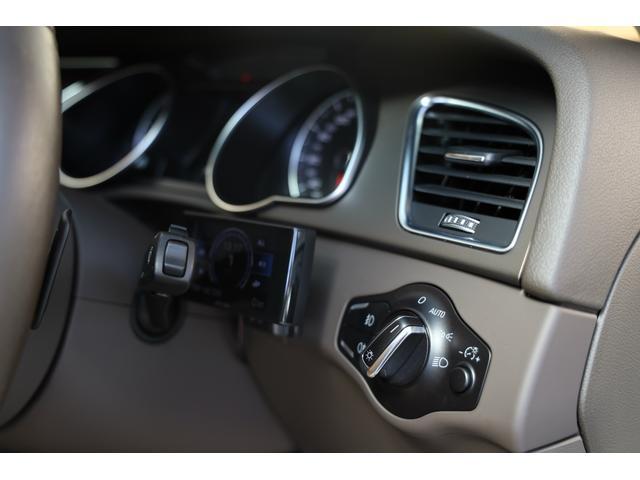 2.0TFSIクワトロ 後期モデル WORK20AW KW車高調 ユーザー買取車 ベージュ本革シート グレイシアホワイトメタリック フルタイム4WD 2,000ccターボ 純正ナビ パーキングシステム(63枚目)