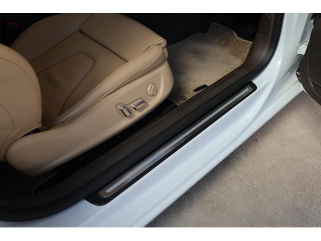 2.0TFSIクワトロ 後期モデル WORK20AW KW車高調 ユーザー買取車 ベージュ本革シート グレイシアホワイトメタリック フルタイム4WD 2,000ccターボ 純正ナビ パーキングシステム(68枚目)