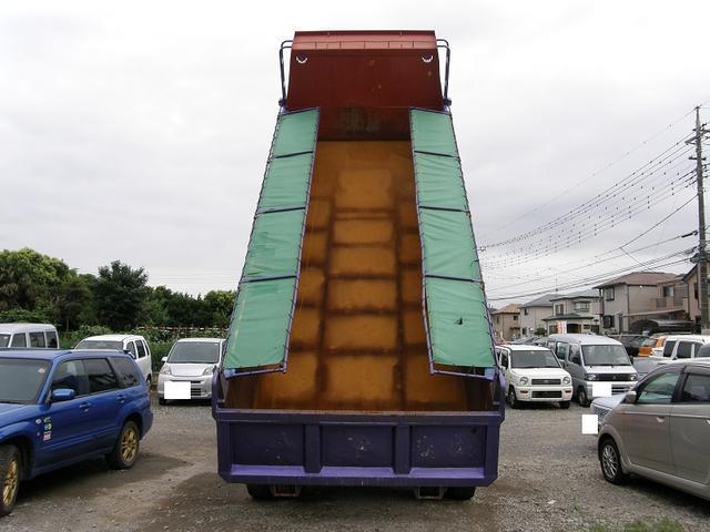 日野 プロフィア 最大積載量10t ダンプ 2デフ デフロック コボレーン