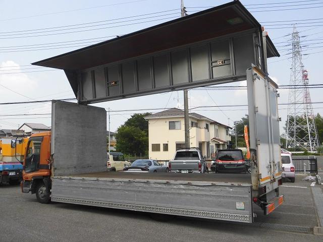 3.1トン積みアルミウィング スムーサー6MT バックカメラ(5枚目)