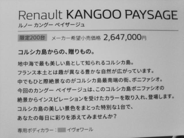 「ルノー」「カングー」「ミニバン・ワンボックス」「千葉県」の中古車48