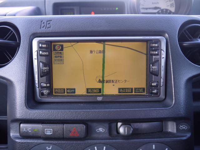 トヨタ bB Z Xバージョン 純正ナビ 純正AW キーレスエントリー