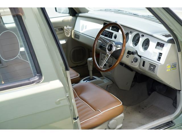 4WD オートマ 革調シート ナルディ 白パネル 背面カバー(8枚目)