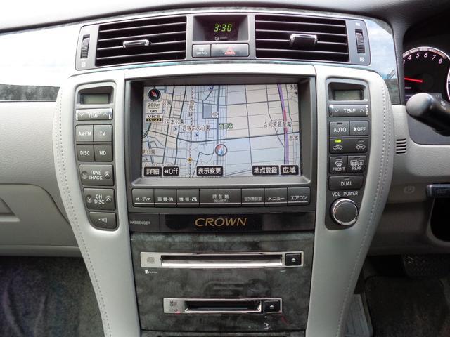 トヨタ クラウン ロイヤルサルーン 後期 HDD エアロ HIDライト ETC