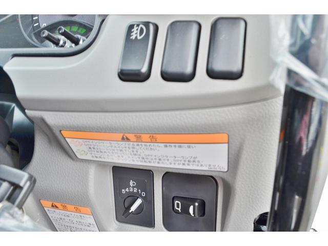 三菱ふそう キャンター 全低床3t強化ダンプ 登録済未使用車 車線逸脱警告