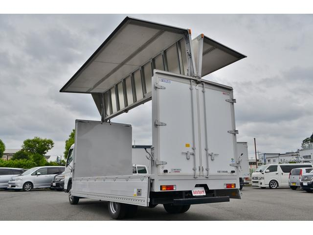 積載3t ワイドロング全低床 アルミウイング 衝突軽減装置(5枚目)