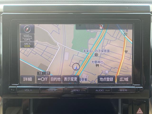 G サンルーフ 純正SDナビ 両側電動スライド(11枚目)