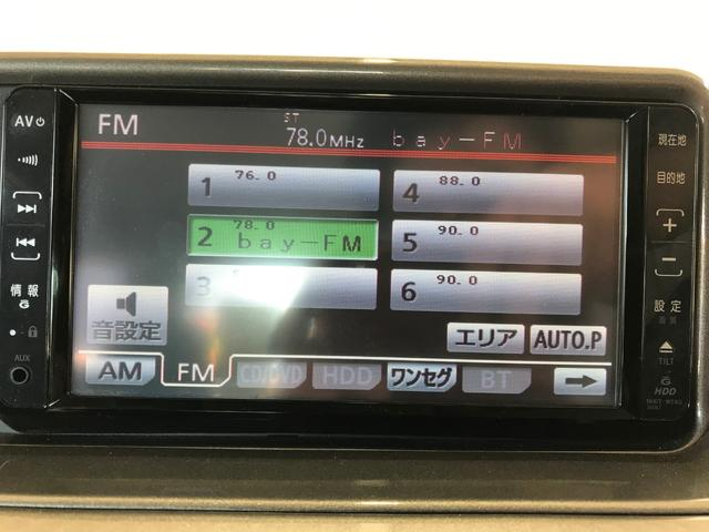 100G 純正HDDナビ/ミラー型ドラレコ/スマートキー/ETC/革巻きステアリング/社外14インチAW(4枚目)