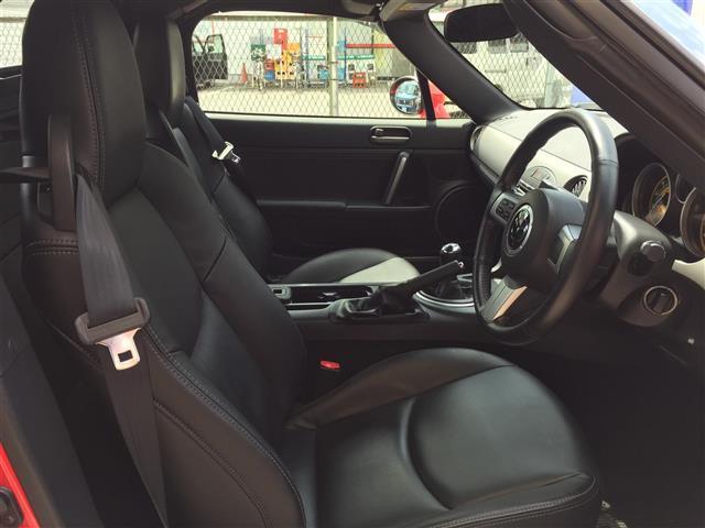 マツダ ロードスター RS RHT ワンオーナー 革シート シートヒーター ETC
