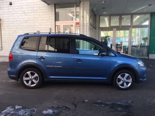 「フォルクスワーゲン」「VW ゴルフトゥーラン」「ミニバン・ワンボックス」「北海道」の中古車6