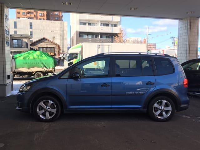 「フォルクスワーゲン」「VW ゴルフトゥーラン」「ミニバン・ワンボックス」「北海道」の中古車7