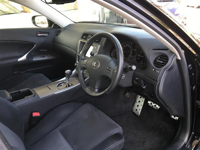 レクサス IS 250 バージョンS メーカーナビ サンルーフ クルコン