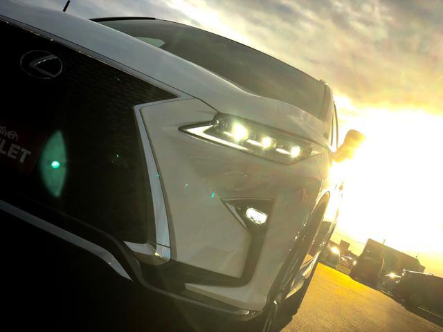 レクサス RX 200t Fスポーツ 純正ナビ 三眼LED プリクラッシュS