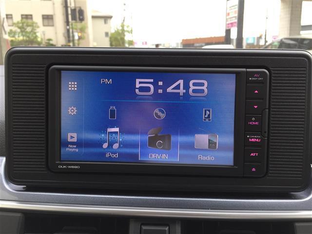 アクティバX リミテッド SAIII /衝突軽減/踏み間違い防止/レーンキープ・純正ディスプレイオーディオ/DVD/CD/USB/BT・Bカメラ・ステアスイッチ・LED/オートライト・フォグ・アイドリングストップ・スマートキー・保証・取説(8枚目)