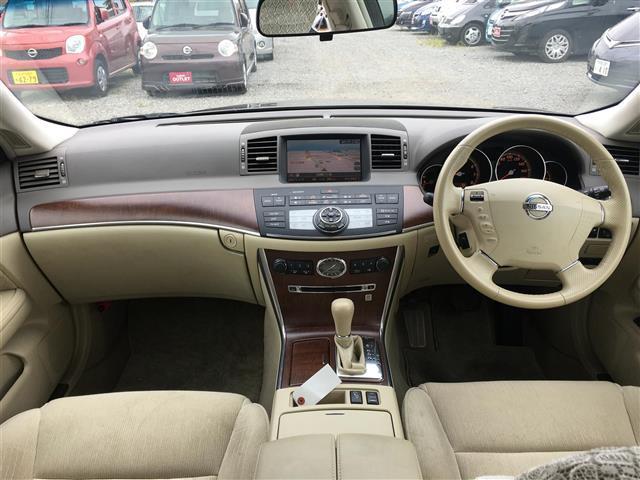 日産 フーガ 250GT ワンオーナー DVDナビ サイド/バックカメラ