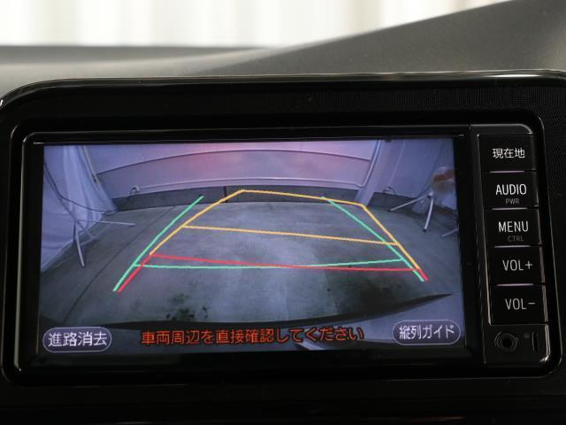 X 7人乗り 左側パワースライドドア セーフティセンスC キーレス ETC付 ワンオーナー ワンセグ ドラレコ メモリーナビ 横滑り防止装置 記録簿 ABS パワステ ナビ&TV バックモニター  3列(8枚目)
