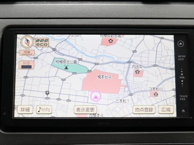 S DVD再生機能 HIDヘットライト リヤカメラ ナビTV アルミ ワTV CDオーディオ ESC 点検記録簿 ETC エアコン 盗難防止 PW キーフリー エアB AUX パワステ メモリーナビ(6枚目)