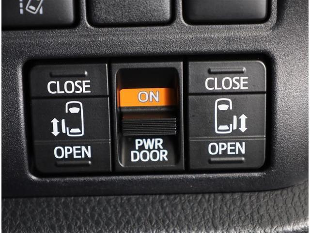 ハイブリッドSi ダブルバイビー 両側電動ドア 衝突軽減 キーレスエントリー 盗難防止装置 Bカメラ スマートキー フルセグ ETC メモリーナビ CD AW クルコン LED ナビTV 1オナ(12枚目)