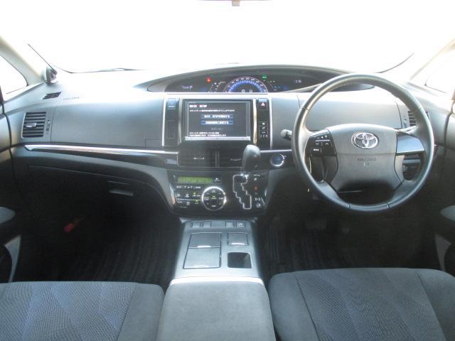 トヨタ エスティマハイブリッド アエラス HDDナビ バックモニター フルセグ