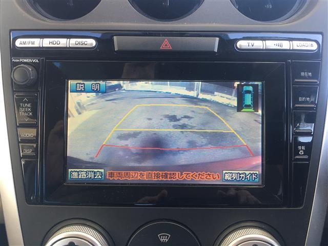 マツダ CX-7 Cruising package 本革シート HDDナビ