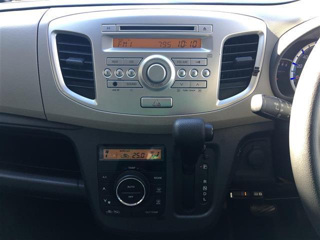 スズキ ワゴンR FX 純正オーディオ社外テールランプ社外16インチアルミ