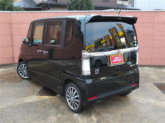 ホンダ N BOXカスタム カスタム G ターボSSパッケージ1オナ両側電動スライドドア