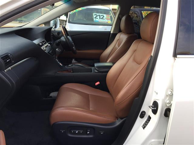 レクサス RX 270 バージョンL 本革シート HDDナビ ETC HID