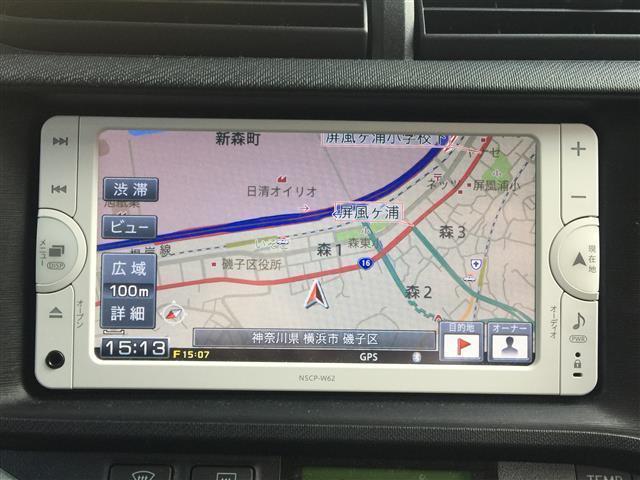 トヨタ アクア S ワンオーナー メモリーナビ ワンセグ バックカメラ