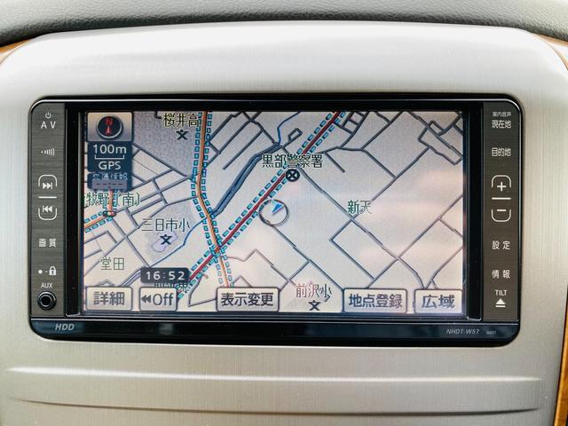 AX Lエディション 純正HDDナビ左側パワースライドドアHIDヘッドライトフォグライトキーレス(5枚目)