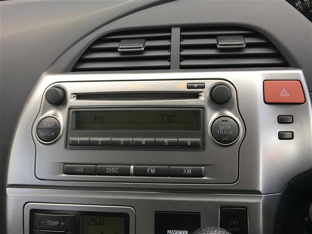 トヨタ ラクティス G Lパッケージ スマートキー CD