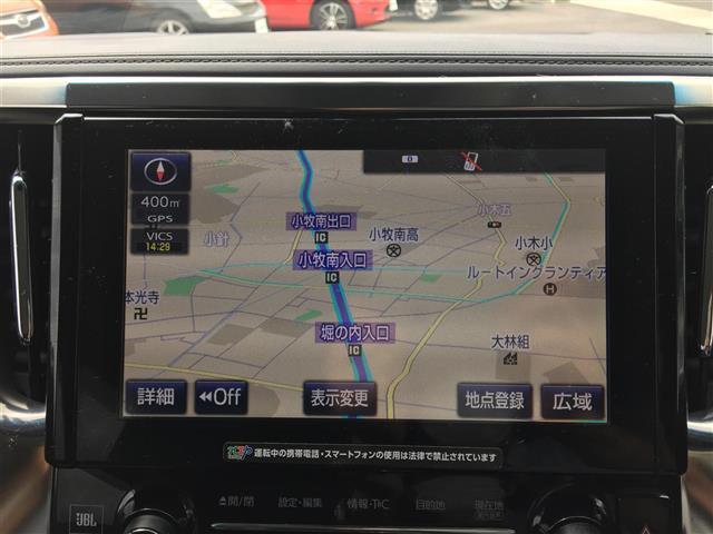 3.5ZA Gエディション ワンオーナー メーカーOPSDナビ フルセグ JBLサウンド BT 純正フリップダウンモニター 全周囲カメラ ステアリングヒーター クルコン スマートキー 両側自動ドア パワーバックドア ETC(4枚目)
