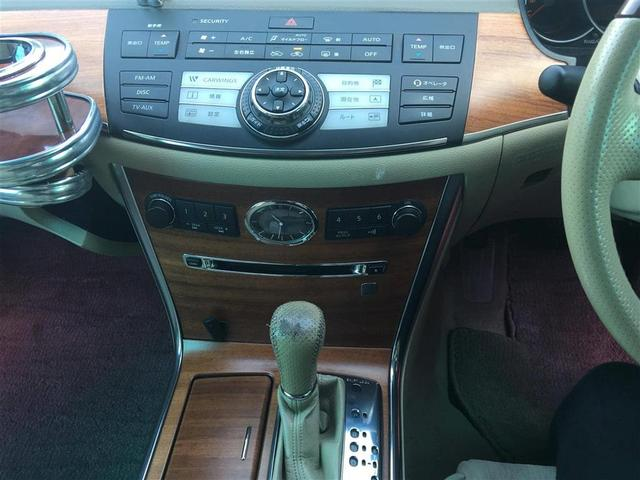 250GT 純正DVDナビゲーション バック左サイドカメラ キセノン ウッド調コンビハンドル ウッド調パネル 社外20AW 社外RS-R車高調 社外サイド&リアアンダーエアロ 社外助手席フロントテーブル(7枚目)