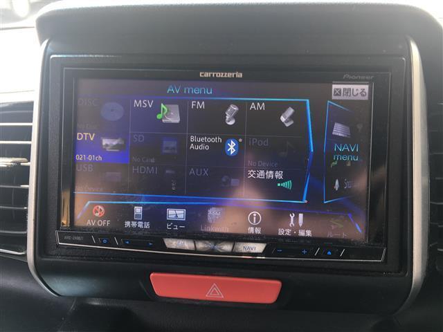 カスタム G SSパッケージ 社外HDDナビ フルセグTV(7枚目)